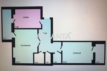 Зображення 3 — продається 2-кімнатна Мізікевіча (Ліманка): 39000 у.е.