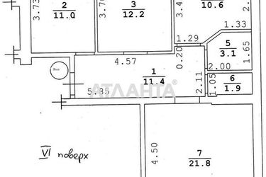 Изображение 15 — продается 3-комнатная в Суворовском районе: 75000 у.е.