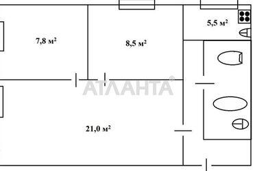 продается 3-комнатная в Малиновском районе — 33000 у.е.