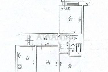 Изображение 18 — продается 3-комнатная в Суворовском районе: 42000 у.е.