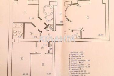 Изображение 17 — продается многокомнатная в Приморском районе: 700000 у.е.