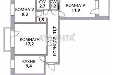 Изображение 9 — продается 3-комнатная в Черноморске: 50000 у.е.