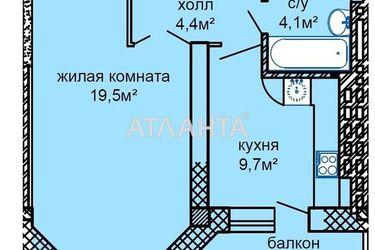 продается 1-комнатная в Киевском районе — 40000 у.е.