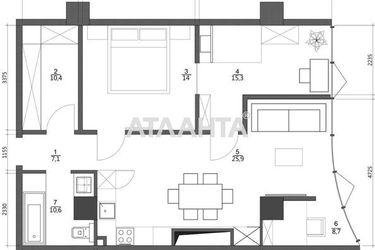 Изображение 5 — продается 2-комнатная в Приморском районе: 125000 у.е.
