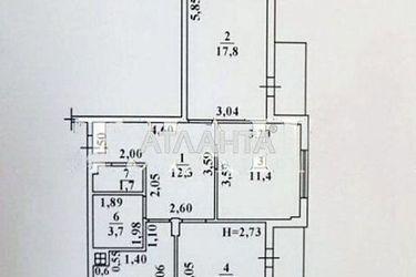 Изображение 3 — продается 3-комнатная в Киевском районе: 49000 у.е.