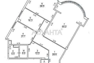 Изображение 3 — продается 3-комнатная в Приморском районе: 195000 у.е.