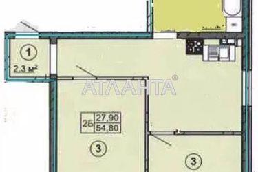 Изображение 2 — продается 2-комнатная в Малиновском районе: 34300 у.е.