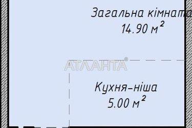 Изображение 8 — продается 1-комнатная в Малиновском районе: 26404 у.е.