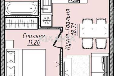Изображение 6 — продается 1-комнатная в Малиновском районе: 31390 у.е.