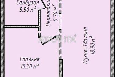 продается 1-комнатная в Малиновском районе — 31760 у.е.