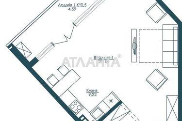 Изображение 4 — продается 1-комнатная в Приморском районе: 110000 у.е.