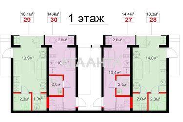 Изображение 3 — продается 1-комнатная в Суворовском районе: 9700 у.е.
