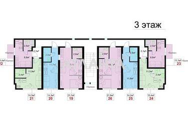 Изображение 7 — продается 1-комнатная в Суворовском районе: 9700 у.е.