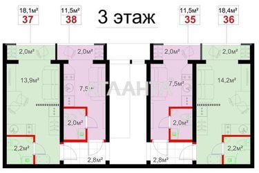 Изображение 8 — продается 1-комнатная в Суворовском районе: 9700 у.е.