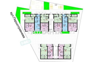 продается 1-комнатная в Суворовском районе — 15950 у.е.