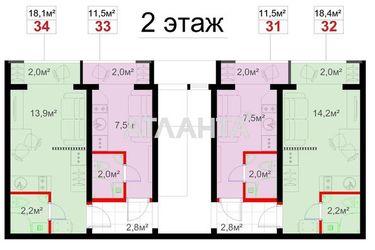 Изображение 3 — продается 1-комнатная в Суворовском районе: 15950 у.е.