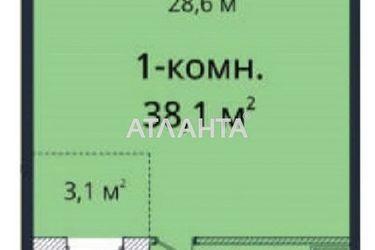 Изображение 2 — продается 1-комнатная в Приморском районе: 50000 у.е.