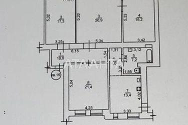 Изображение 18 — продается многокомнатная в Приморском районе: 180000 у.е.